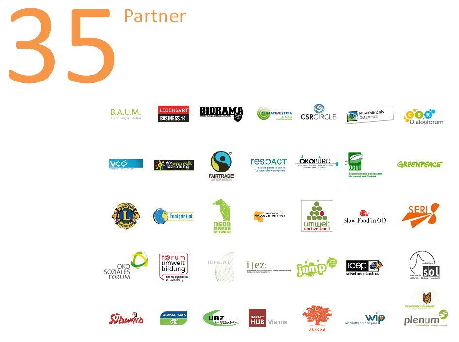 Logos der PartnerInnen der Aktionstage 2014
