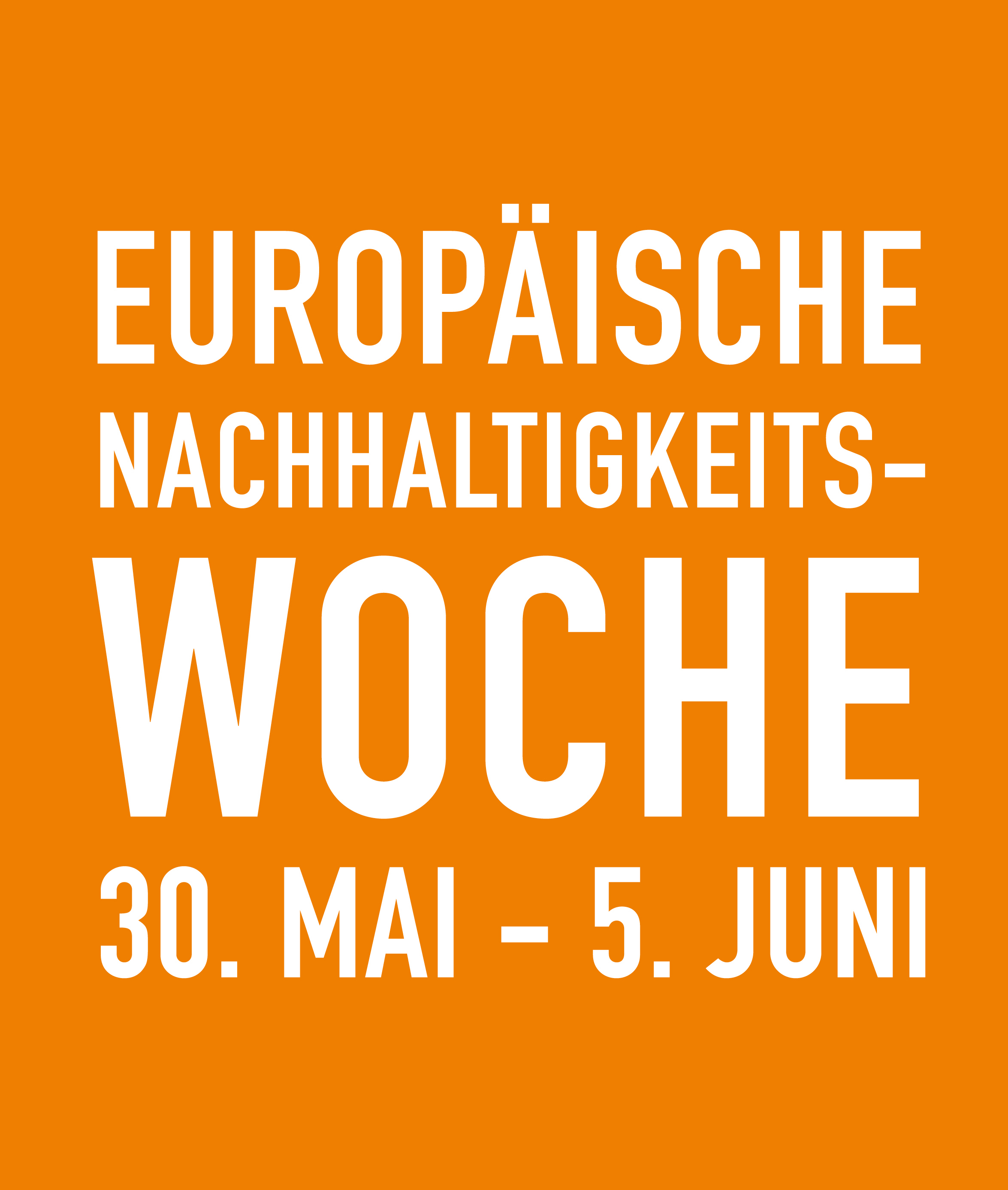 European Sustainable Development Week - ESDW (30th May - 5th June 2015)