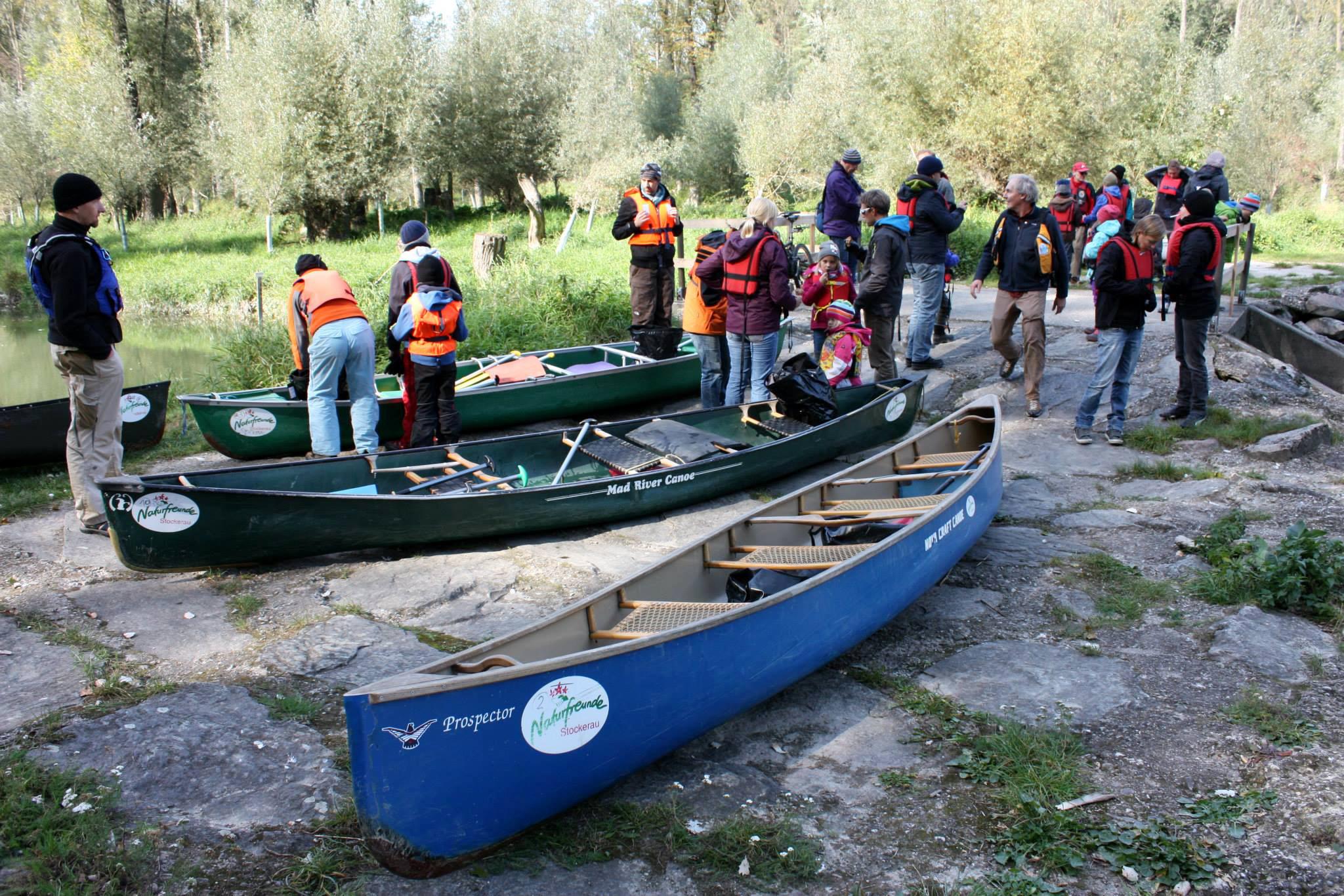 Aktionstage 2013_85_Wasserwege - Paddeltour durch die Stockerauer Au