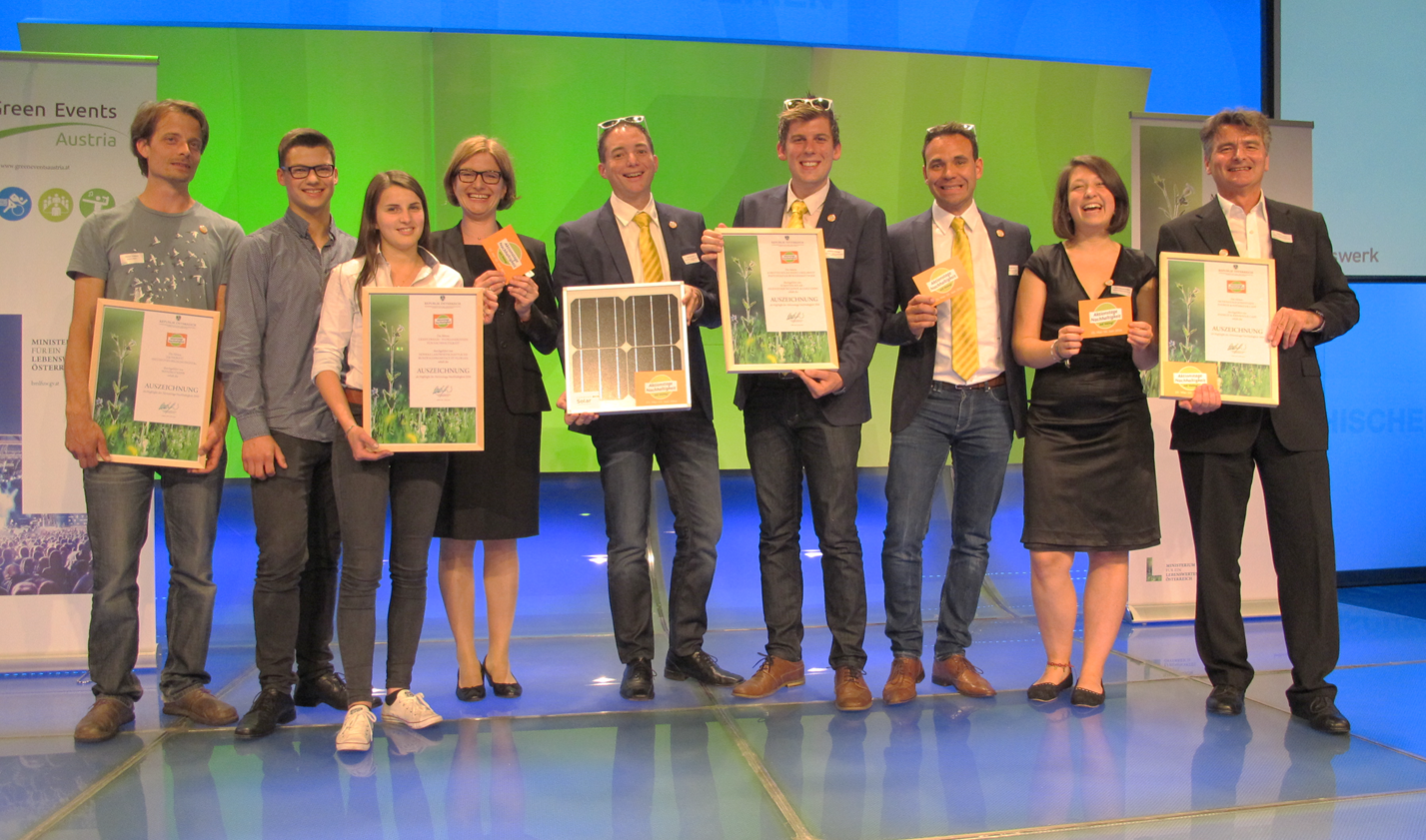 Die Aktionstage-Highlights 2016 bei der Green Events Austria Gala