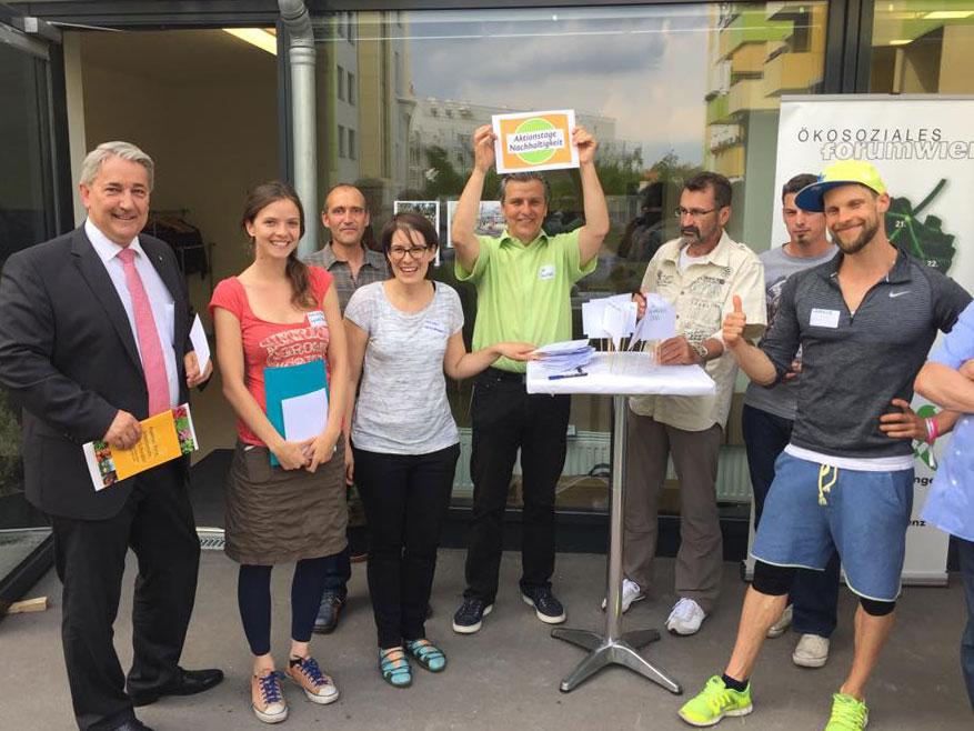 Mini-Interview mit Joe Taucher, Lokale Agenda 21 Wien & Ökosoziales Forum Wien 3