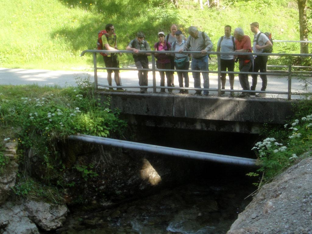 Die Spitzenbachklamm – Einblick in geologische Vorgänge 2