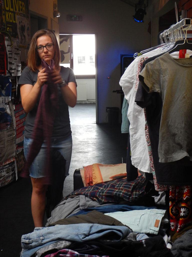 Volxküche und Kleidertausch im Freizeit- und Kulturzentrum MARK 3