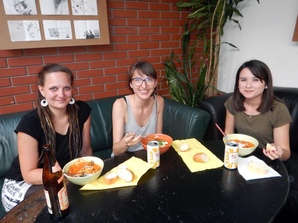 Volxküche und Kleidertausch im Freizeit- und Kulturzentrum MARK 1