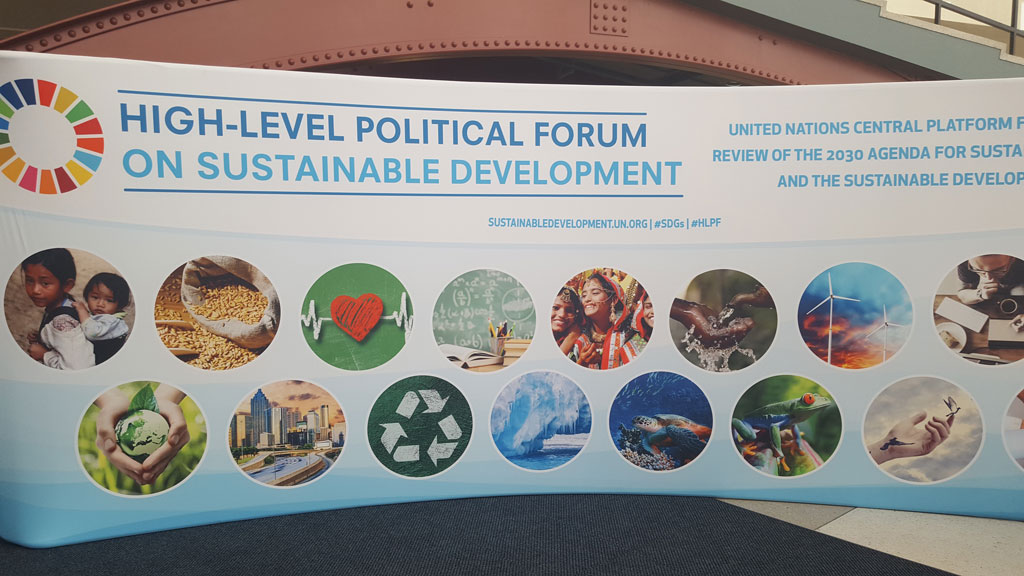 HLPF and SDGs – what's that? 2