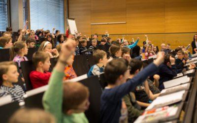 Aktionstage Highlights – Teil 2: Kinderuni Vorarlberg – Warum ist es ein Problem, wenn das Klima sich verändert?