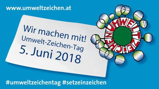 Banner Umweltzeichentag 2018