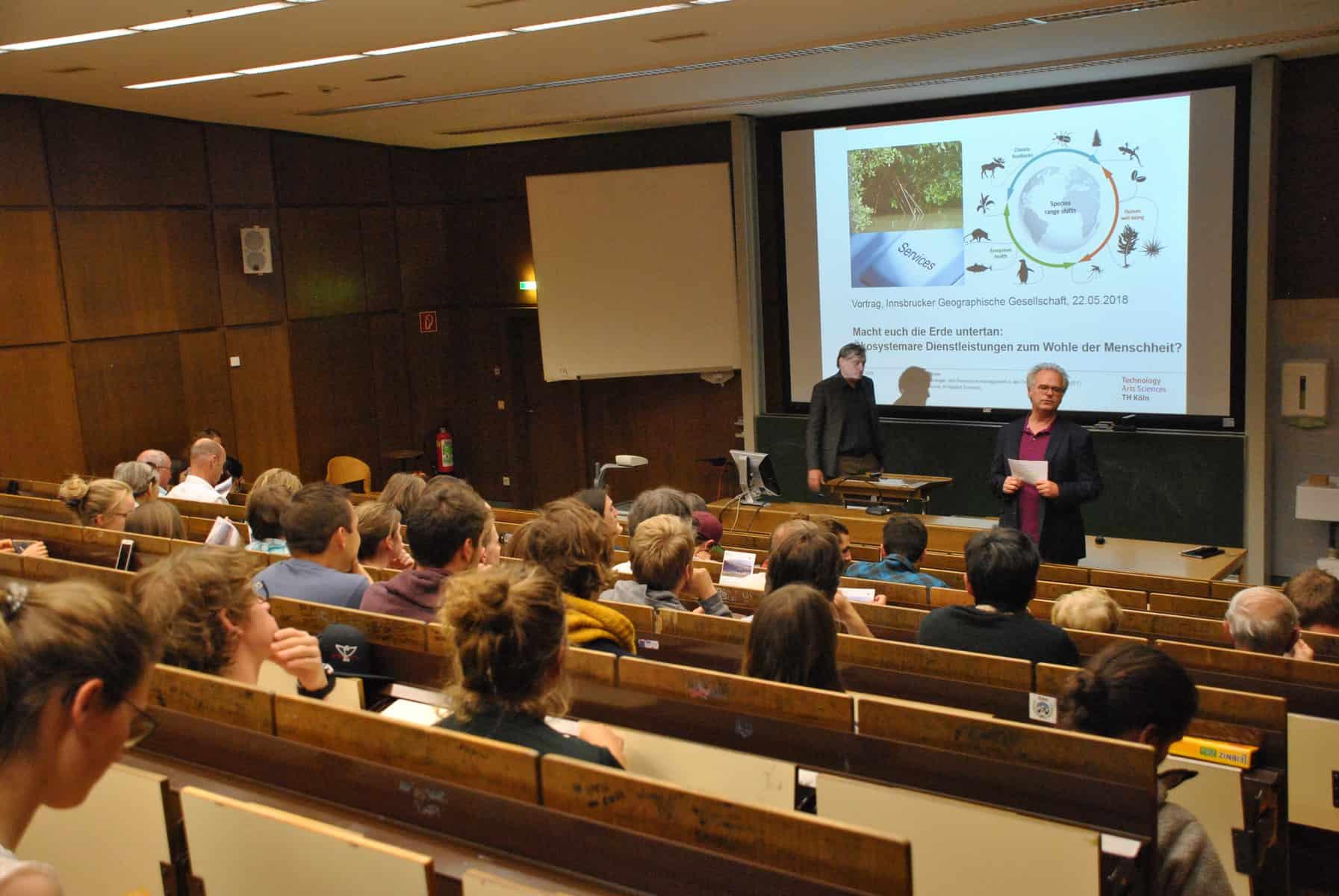 Mit Mutter Natur muss man rechnen - Ein Vortrag über Ökosystemare Dienstleistungen 7