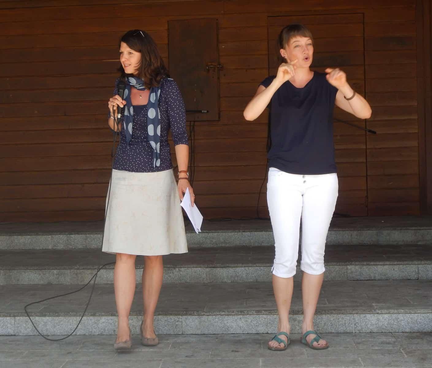 "NH-Reporterin Aglavaine Lakner bei ""Pongau barrierefrei?! – Check"" 1"