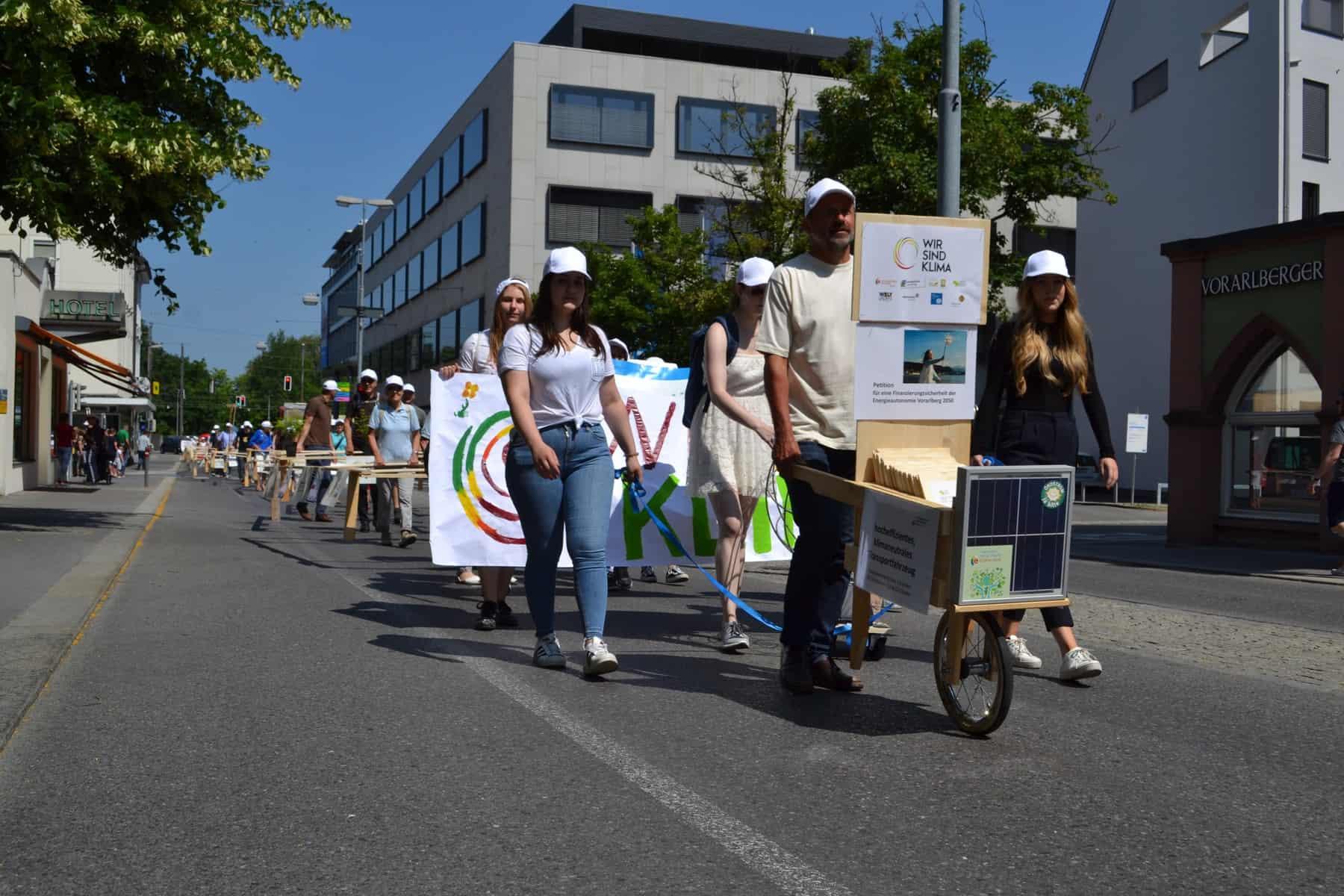 """""""Wir sind Klima"""" - Aktionstag 1"""