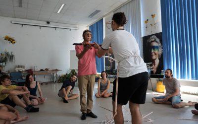 Wie die Fleischlust den Regenwald konsumiert – ein Theater-Workshop