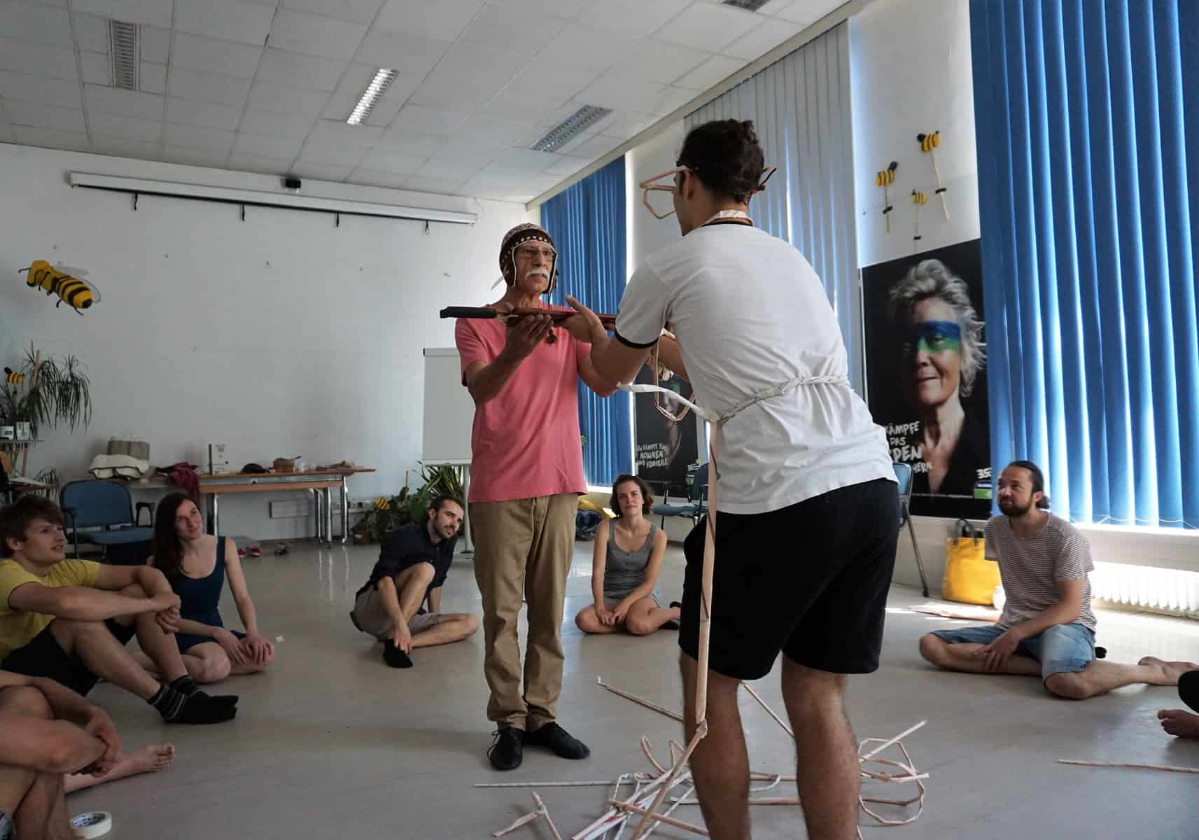 Wie die Fleischlust den Regenwald konsumiert – ein Theater-Workshop 8