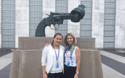 Als Jugendbotschafterin für UN-Kinderrechte und SDGs in New York
