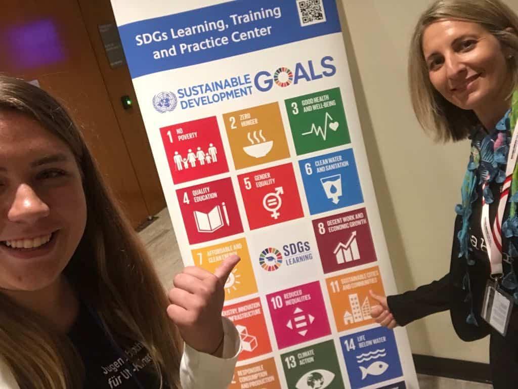 Als Jugendbotschafterin für UN-Kinderrechte und SDGs in New York 1