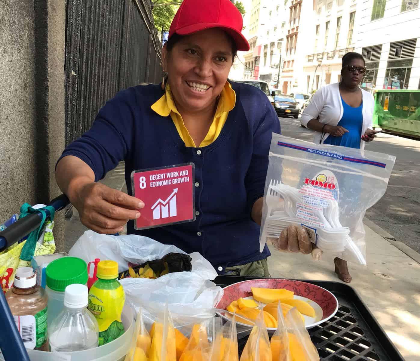 Als Jugendbotschafterin für UN-Kinderrechte und SDGs in New York 9