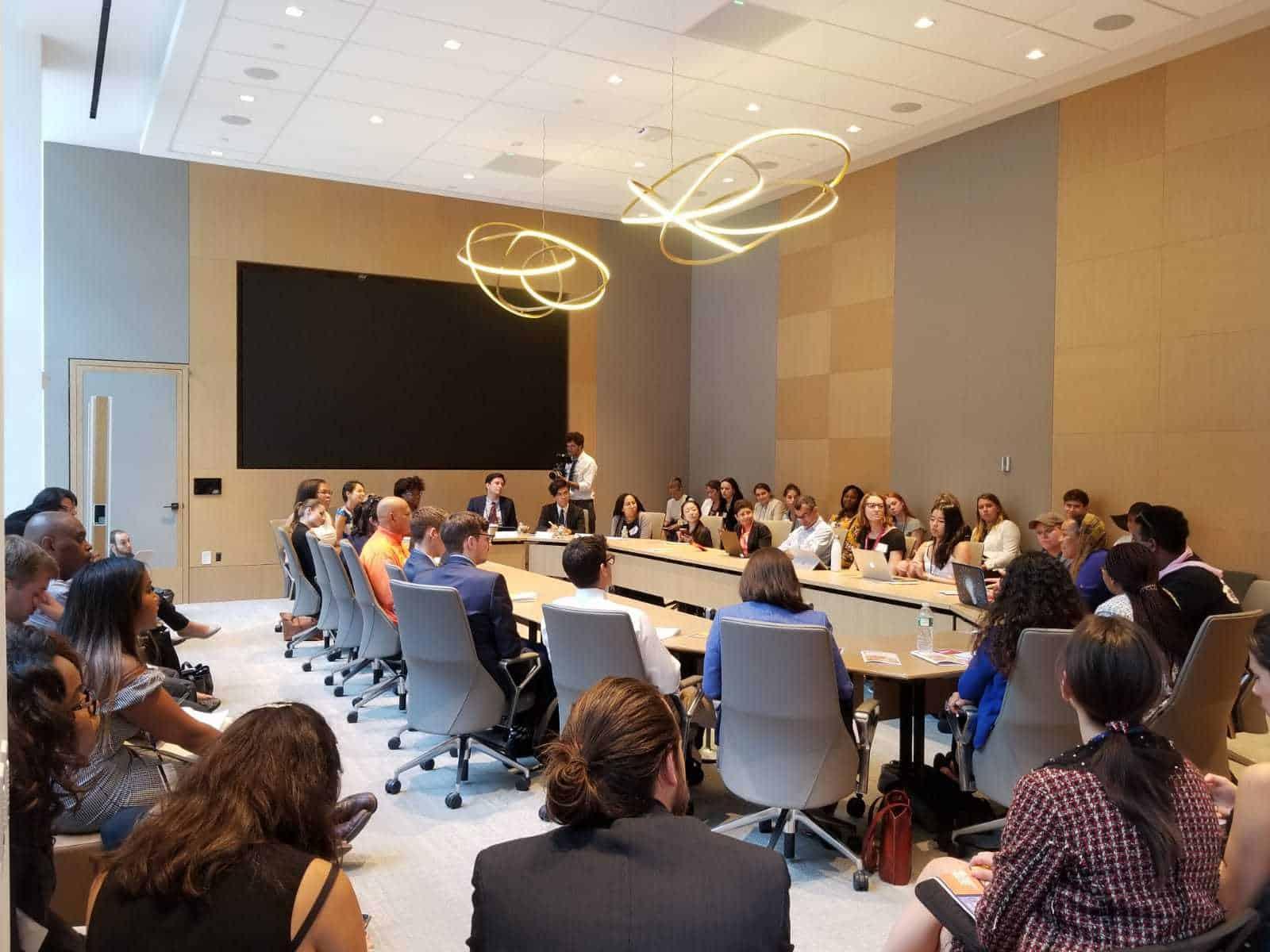 Als Jugendbotschafterin für UN-Kinderrechte und SDGs in New York 3