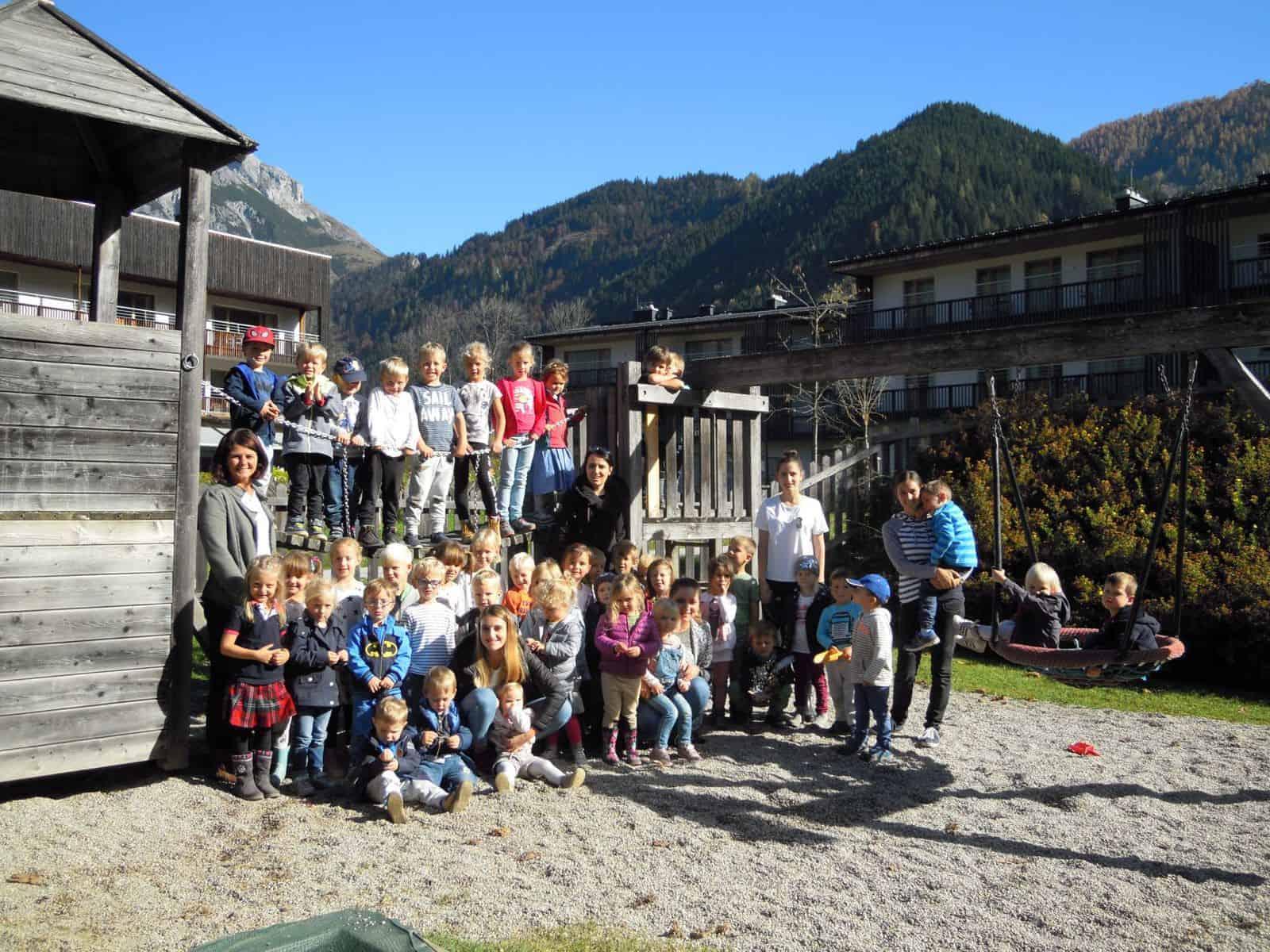 Der Kindergarten macht Müll-frei 345