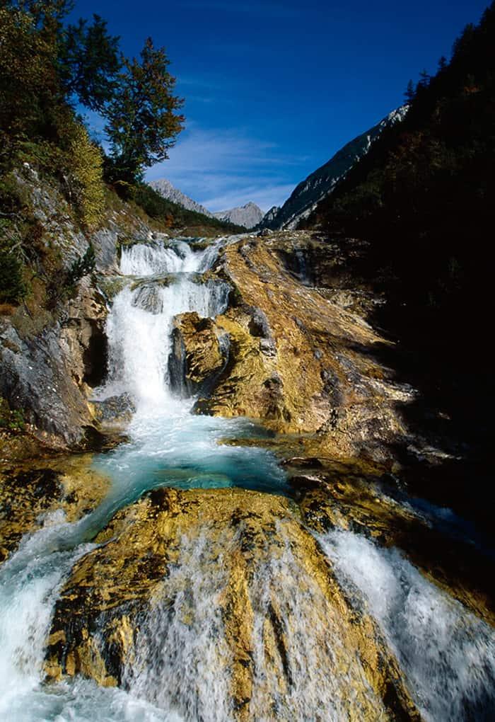 Exkursion: Karwendelschlucht 91