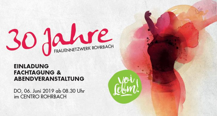 VOI LEBM - Fachtagung 30 Jahre Frauennetzwerk Rohrbach 1