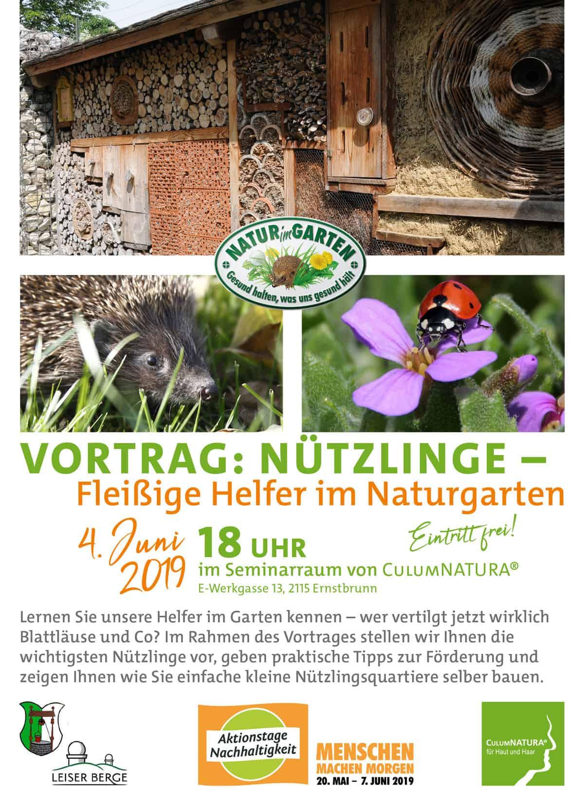 Nützlinge - Fleißige Helfer im Naturgarten 206