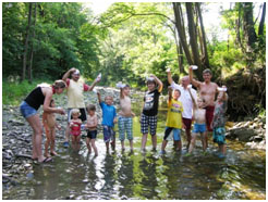 Bachexpedition der Naturfreunde Eichgraben