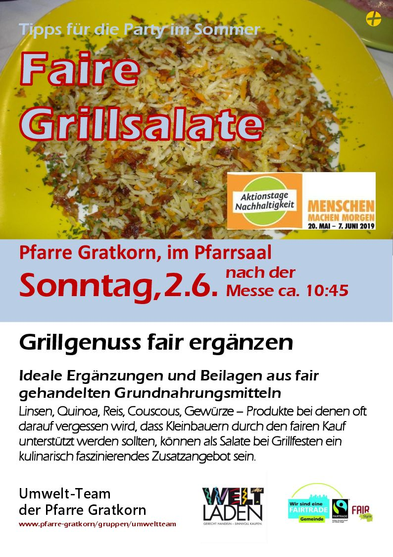 Faire Grillsalate 2