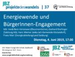 Energiewende und BürgerInnen-Engagement 49