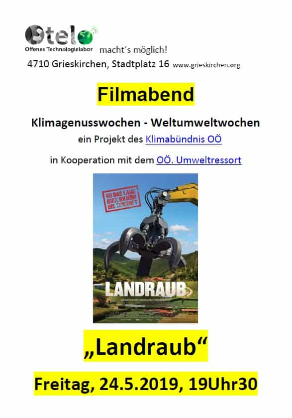Filmabend im OTELO Grieskirchen: Landraub 3