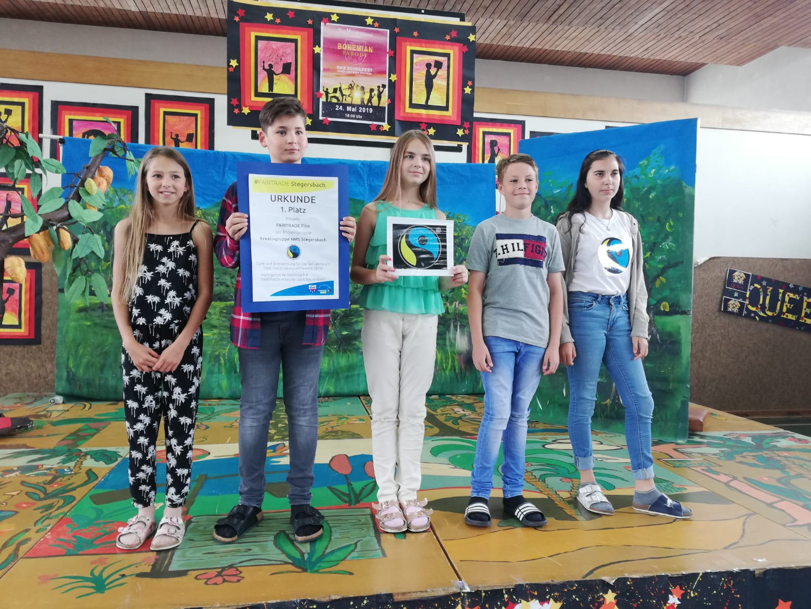 The fairtrade show der NMS Stegersbach 2