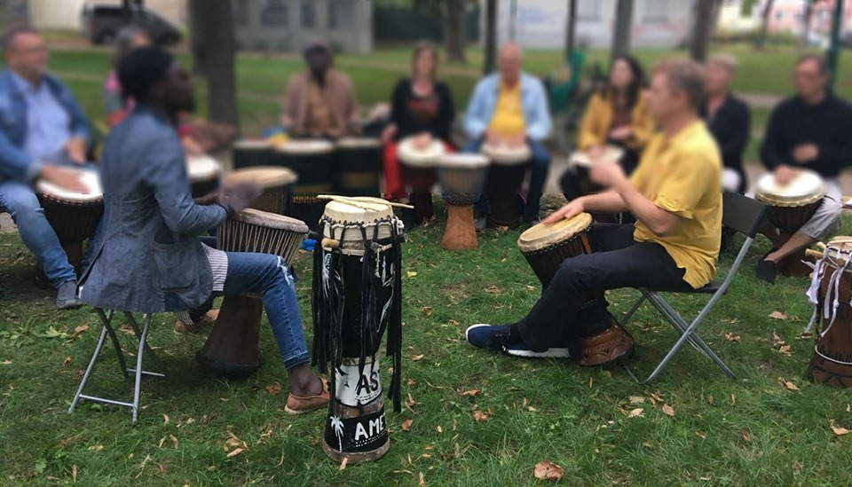 Pure Drums im Jazzpark 158